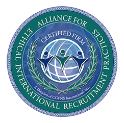 Alliance for Ethical International Recruitment Practices seal