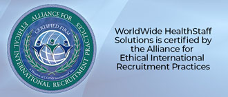 Certified by the Alliance for Ethical International Recruitment Practices - CGFNS